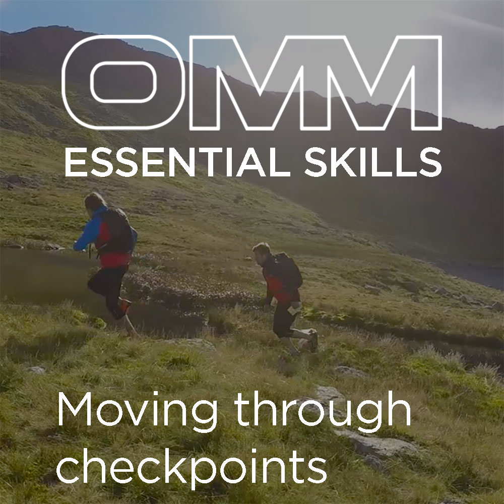 OMM Essential Skills: Moving through checkpoints