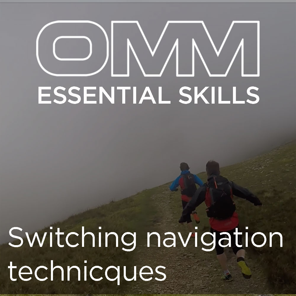 OMM Essential Skills: Switching navigation techniques